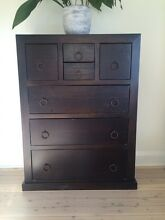 Large set of chestnut drawers Vaucluse Eastern Suburbs Preview
