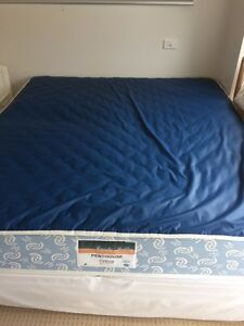 King sized mattress and ensemble base Elanora Heights Pittwater Area Preview