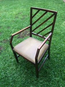 Walnut dining chairs x 6 Willoughby Willoughby Area Preview