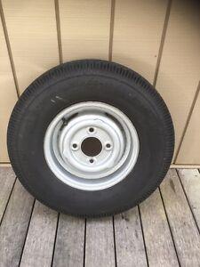 Mini Minor rim and light truck tyre. Balnarring Mornington Peninsula Preview