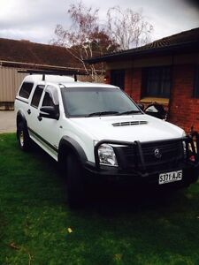 2008 Holden Rodeo dual cab diesel Toorak Gardens Burnside Area Preview