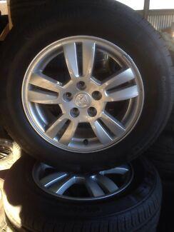 Holden Barina Wheels & Tyres Erina Gosford Area Preview