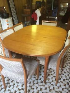 Retro Parker Style Dining Suite 6 chairs Corinda Brisbane South West Preview