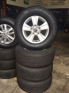 """Brand new 17"""" Toyota Landcrusier Rims and Tyres Newcastle Newcastle Area Preview"""