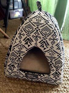 BRAND NEW dome/cave/enclosed cat/small dog bed XMAS pressie Kuranda Tablelands Preview