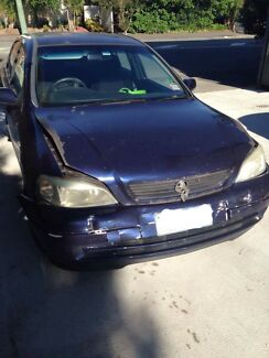 Holden Astra  front damage