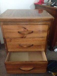 Great quality handmade bedside table! Mosman Mosman Area Preview