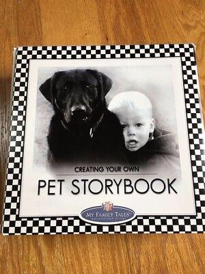 My Family Tales Scrapbook  Kit  PET STORYBOOK - Dogs - Cats  Cat Scrapbook Kit
