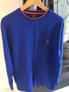 Authentic POLO Ralph Lauren Mens Blue Sleepwear Top Sz XL RRP $69 Pendle Hill Parramatta Area Preview