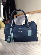 Coach bag - blue - as new North Epping Hornsby Area Preview