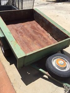 6 x 4 Box Trailer with Spare Tyre Gosnells Gosnells Area Preview