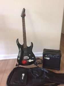 Nice guitar and amp combo Rivervale Belmont Area Preview