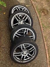 """17"""" AVA wheels and tyres Loganlea Logan Area Preview"""