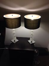 2 lamps with crystal ball stand Chadstone Monash Area Preview