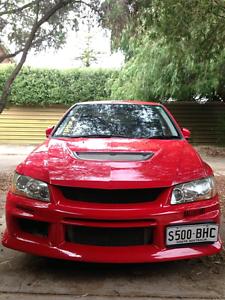 Mitsubishi Lancer Evolution 8 VIII North Adelaide Adelaide City Preview