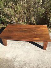 Mango hardwood coffee table Lorn Maitland Area Preview