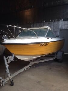 16 foot sports craft hunter mariner 115 hp mint boat