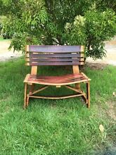 Wine Barrel bench seat Bentley Canning Area Preview