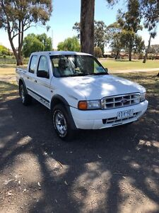 Ford courier ute  turbo diesel 4x4 4wd Shepparton Shepparton City Preview