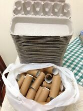 Egg Cartons & toilet rolls for craft projects Newcastle Newcastle Area Preview