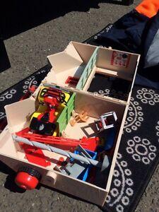 Firmman sam house and toys Coburg Moreland Area Preview