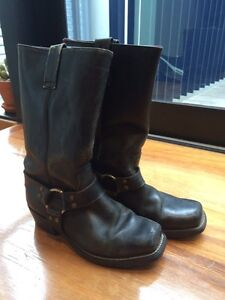 Leather Biker Boots - Thomas Cook Collingwood Yarra Area Preview