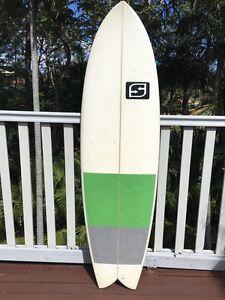 6,0 beach fish surfboard Tugun Gold Coast South Preview