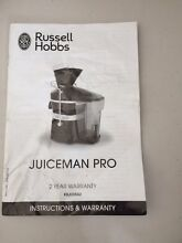 Russell Hobbs juicer Beaumont Hills The Hills District Preview