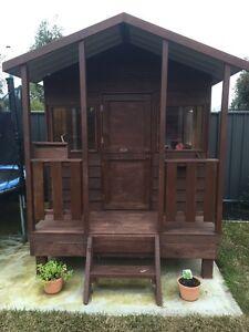 Timber kids Cubby House Epsom Bendigo City Preview