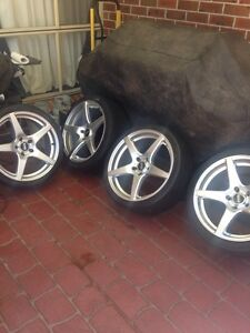 19 inch staggered VMR V705 wheels Kariong Gosford Area Preview