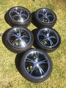 "5x 18"" CSA Alloy Wheels Bunbury Bunbury Area Preview"