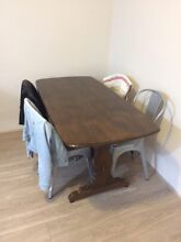 Free timber dining table Holroyd Parramatta Area Preview