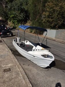 13-14ft  aluminium fishing tinny Castlecrag Willoughby Area Preview