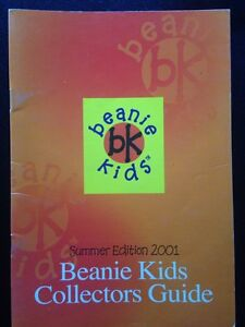 Beanie Kids Collector Guide RARE!  from Summer 2001 Norwood Launceston Area Preview