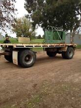 DOG TRAILER 20FT X 8FT,GOOD STRUCTUAL CONDITION *CAN DELIVER* Barham Wakool Area Preview