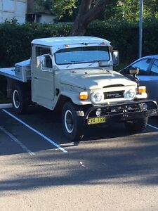 HJ45 Landcruiser also aFord Hearse swap sell Kanahooka Wollongong Area Preview