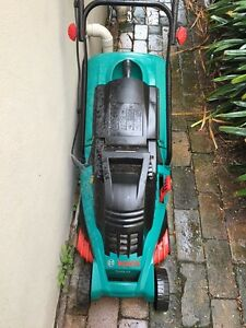 Electric lawn mower  Bosch Glebe Inner Sydney Preview