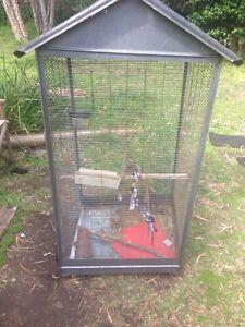 FREE semi broken bird/rat cage Keiraville Wollongong Area Preview