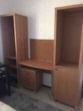 Shelving and desk unit Belrose Warringah Area Preview