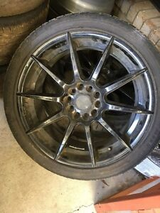 Nissan wheels for sale Burleigh Heads Gold Coast South Preview