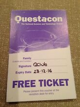 Questacon family pass valid to Christmas Curtin Woden Valley Preview