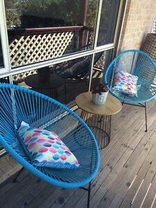 Outdoor chairs Mount Hutton Lake Macquarie Area Preview