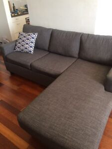 L shape Sofa Grey Mosman Mosman Area Preview