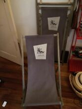 Folding Outdoor / Beach chairs Carlton North Melbourne City Preview