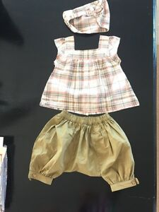 French brand Vertbaudet. Baby outfit top, bottom , headband Wannanup Mandurah Area Preview