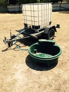 Stock water trailer horse/cattle/sheep Maryborough Central Goldfields Preview
