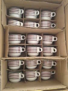Commercial Grade Coffee Cups - 18 cups & saucers Hampton Bayside Area Preview