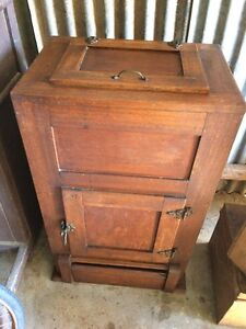 Antique Oak Ice Box Chest Truro Mid Murray Preview
