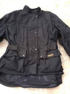 Manteau moto pour dame