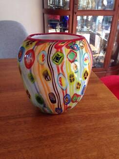 Replica Murano glass vase